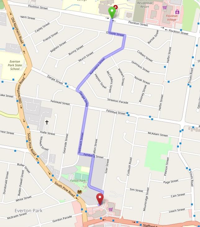 everton park map